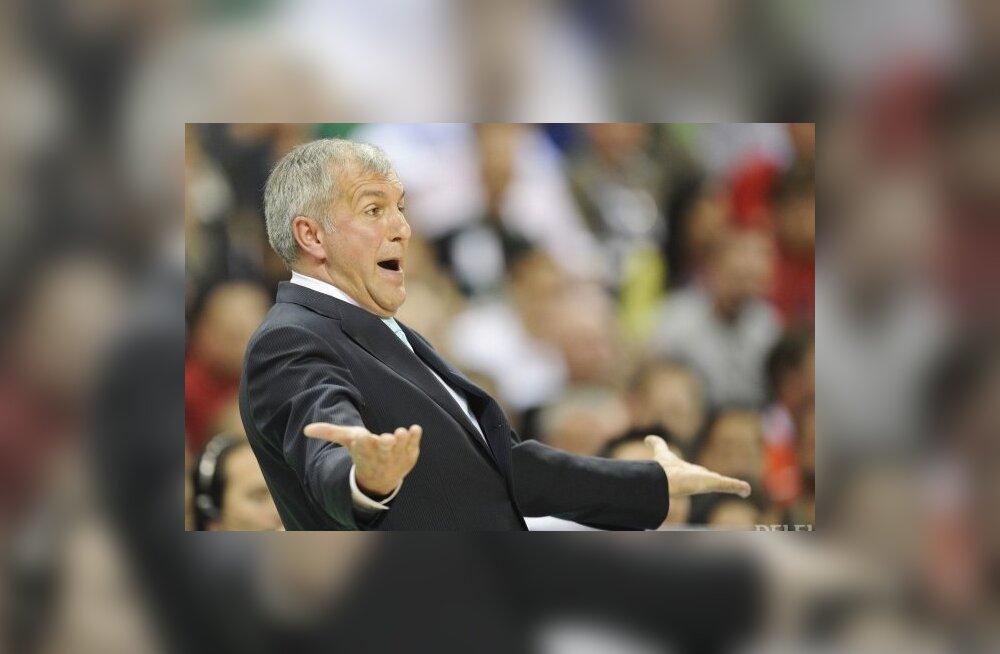 Euroliiga aasta treeneriks valiti Željko Obradovic