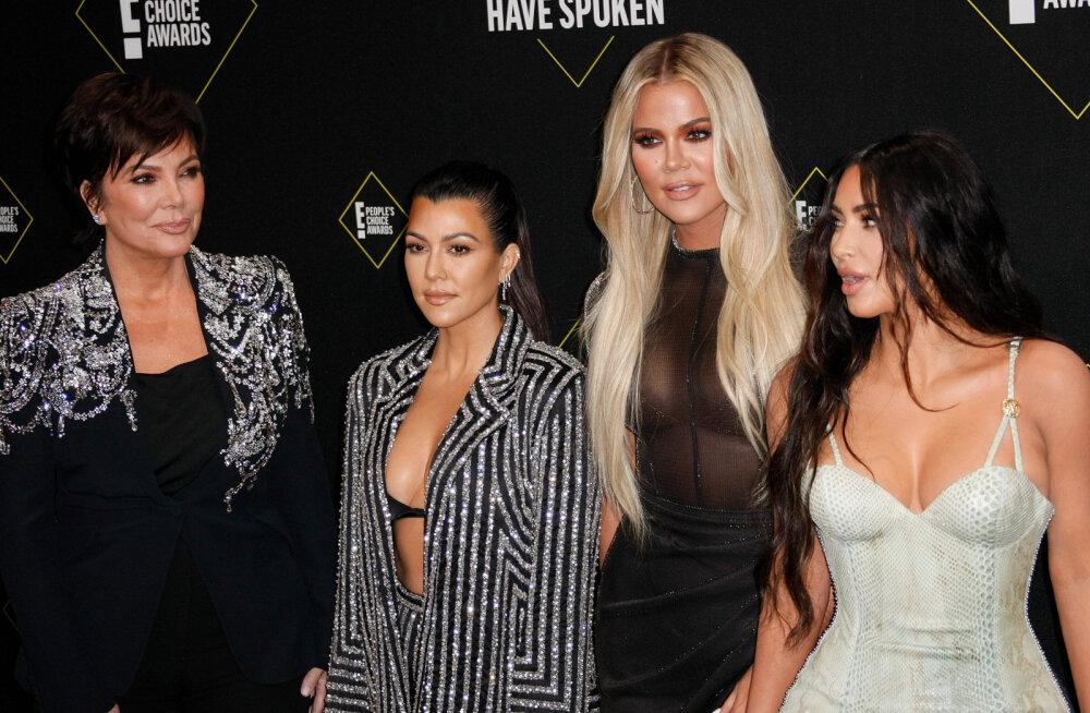 Vägivaldseks osutunud tüli tagajärg: üks Kardashianide õdedest oma elu enam teleekraanil ei demonstreeri