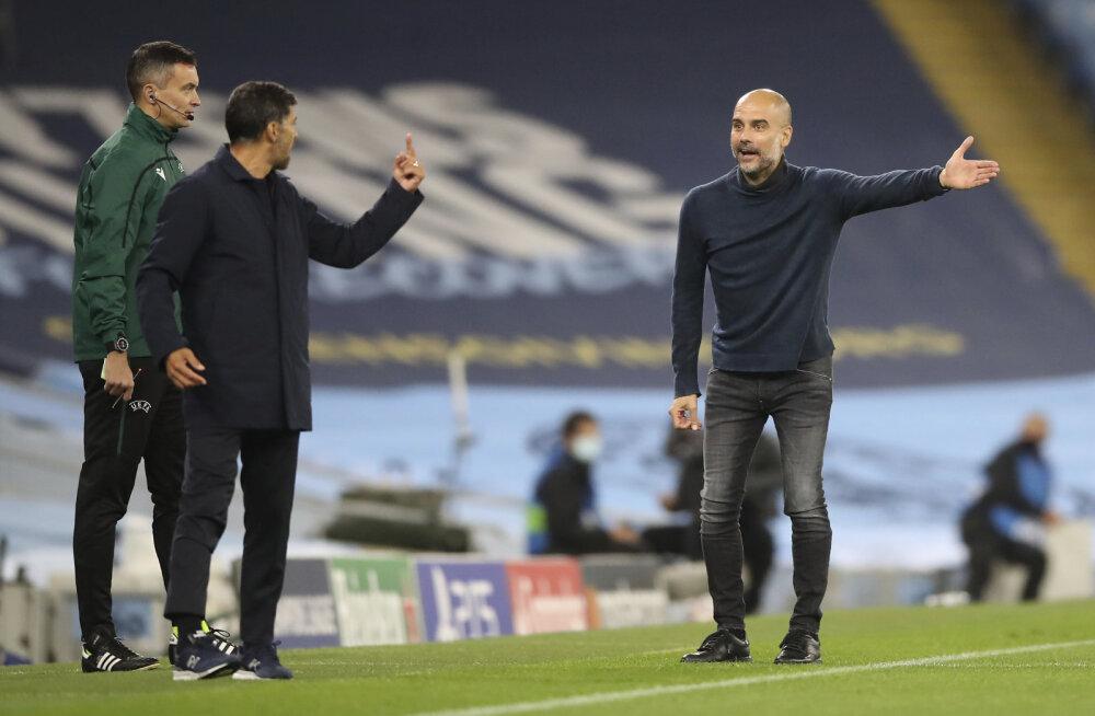 Sergio Conceicao ja Pep Guardiola
