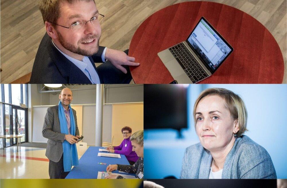 Valimiste finišijoonel on parteijuhid kõige hõivatumad eestlased