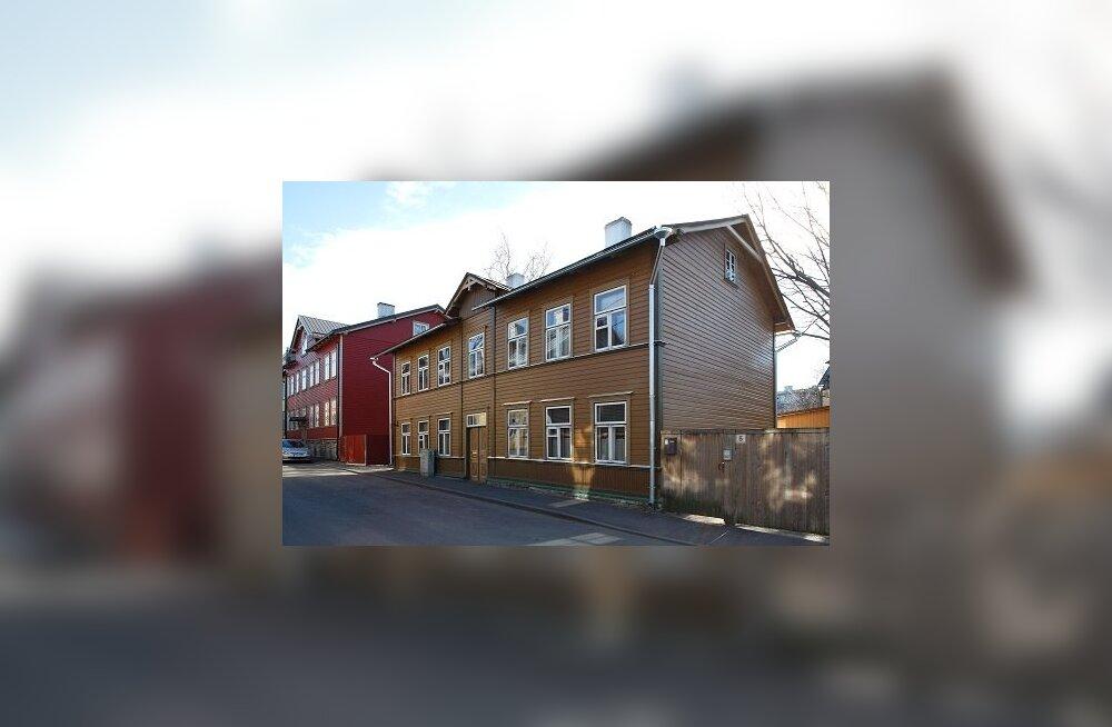 Köie 3 restaureeritud maja
