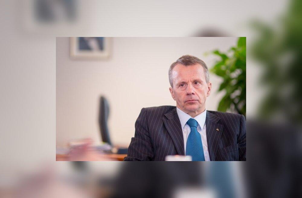 Юрген Лиги отказался претендовать на место мэра Таллинна