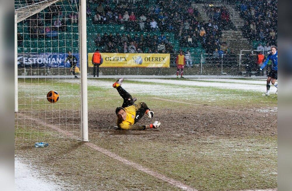 Eesti U-17 jalgpallikoondis kaotas kahel korral Belgiale