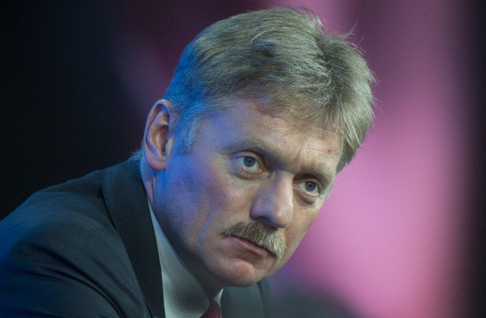 Kreml: teated poliitikute mahalaskmisnimekirja kohta on absurdsed