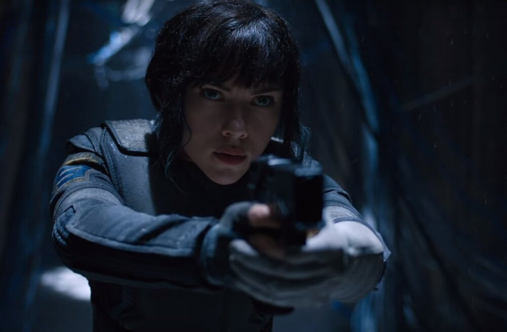 "TREILER: Robotid, häkkerid ja Scarlett Johansson ulmefilmis ""Ghost in the Shell"""
