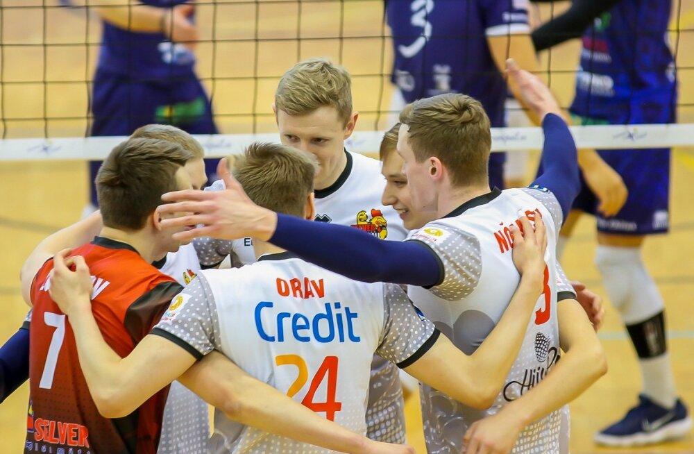 2018, Credit 24 võrkpall, Saaremaa ja Selver , poolfinaal, kolmas mäng