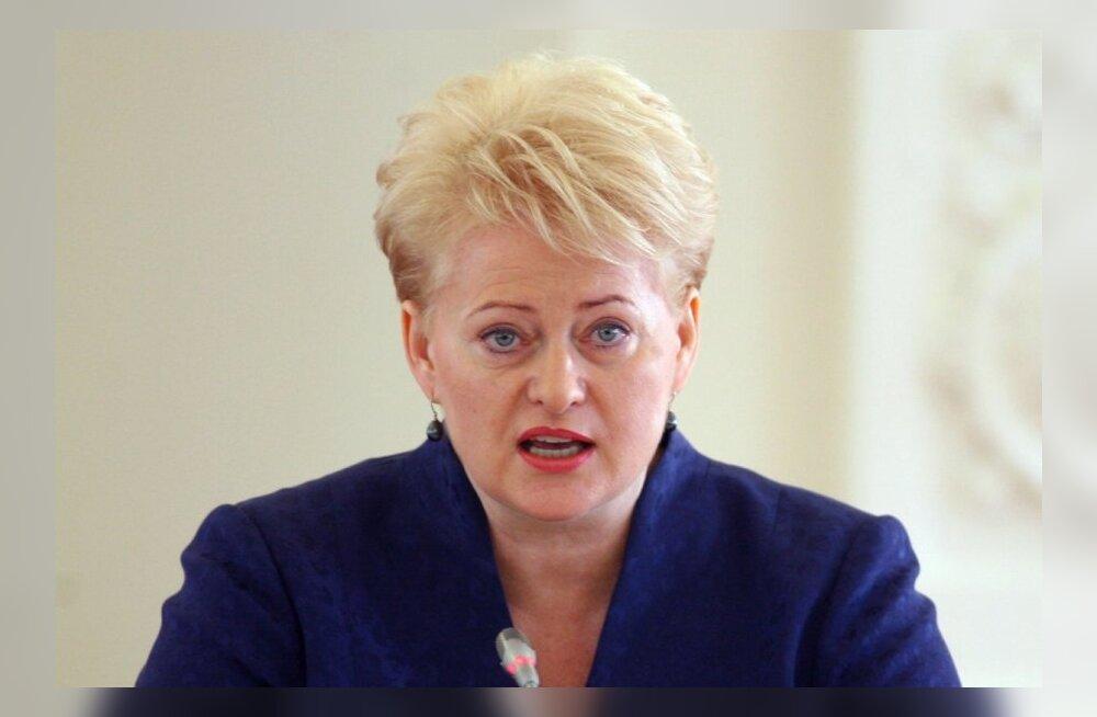 Президент Литвы - о банке Snorаs: факты указывают, что это была осознанная атака