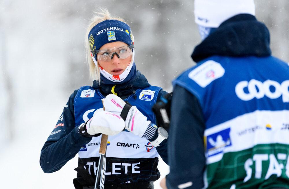 Rootsi noor suusatäht naaseb võistlustulle