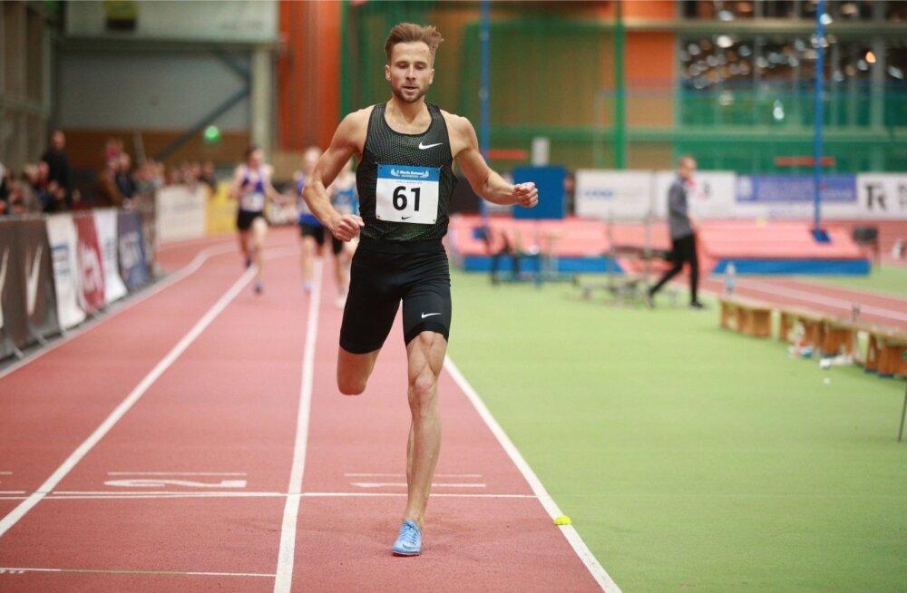 Rasmus Mägi tegi Tartus võisteldes algusest lõpuni soolojooksu. Aeg 1.18,48 on Eesti kõigi aegade teine.