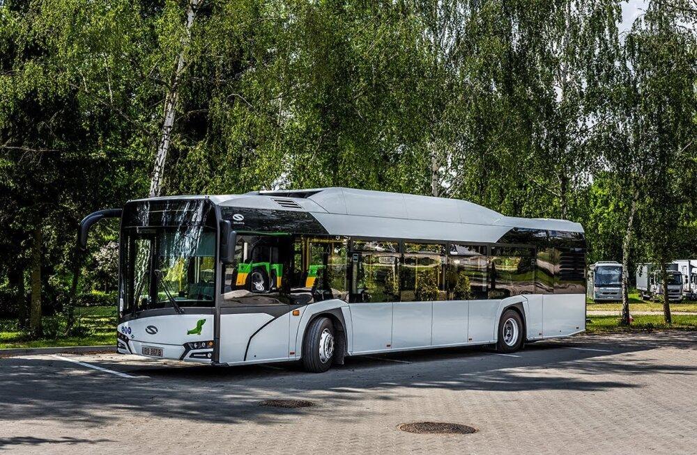 Таллинн покупает новые автобусы на 27 млн евро