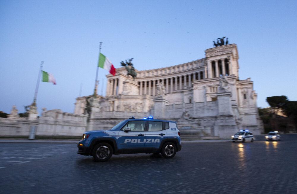 Itaalias hakatakse koroonapiiranguid eiravaid inimesi püüdma droonide abil