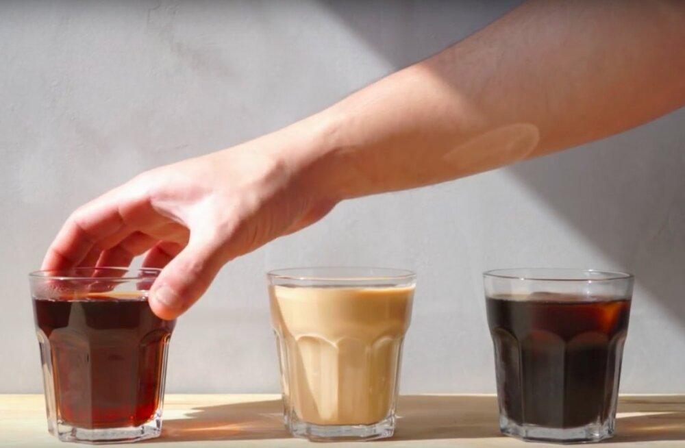 NÄDALANIPP: Vaata, kuidas valmistada selle suve hittjooki <em>cold brew</em> ehk külmpruulitud kohvi
