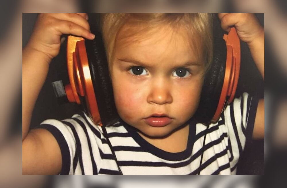 Kelly Sildaru lapsepõlvefoto