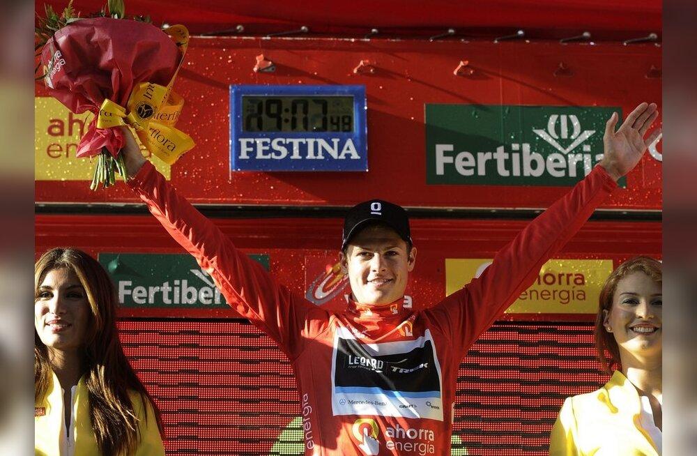 Rein Taaramäe kaotab Vueltal pärast avaetappi liidrile 33 sekundit