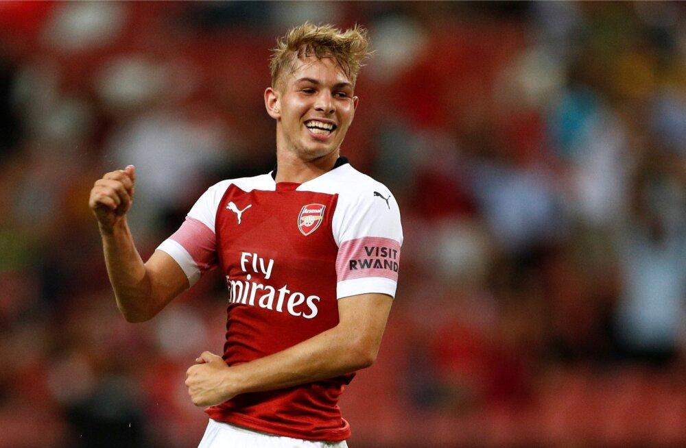 Londoni Arsenali noormängija Emile Smith Rowe
