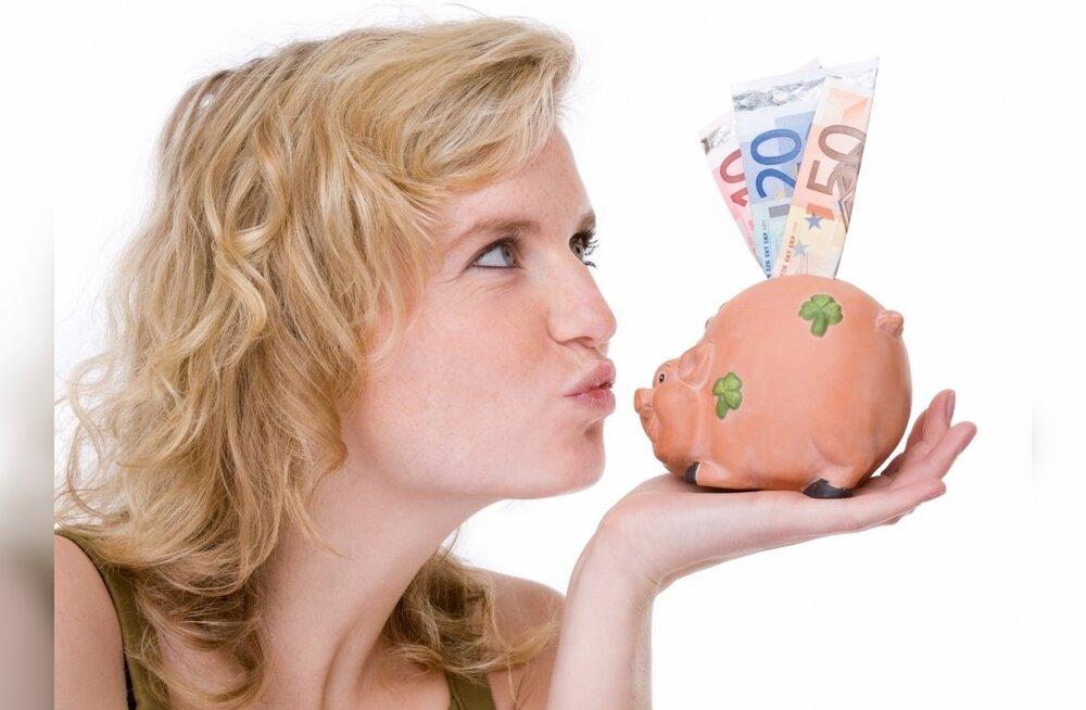 SEB: eestimaalastel kopsakalt likviidseid vahendeid