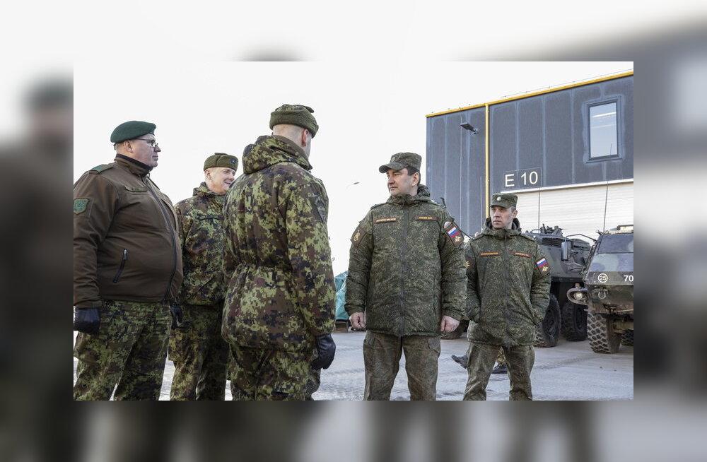 ФОТО | Российские военные провели инспекцию эстонской пехотной бригады