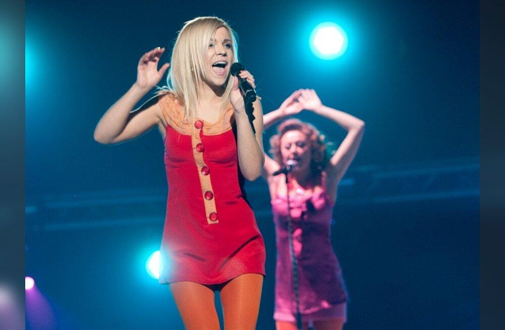 Marilyn Jurman paneb müüki oma Eesti Laulul kantud kleidid