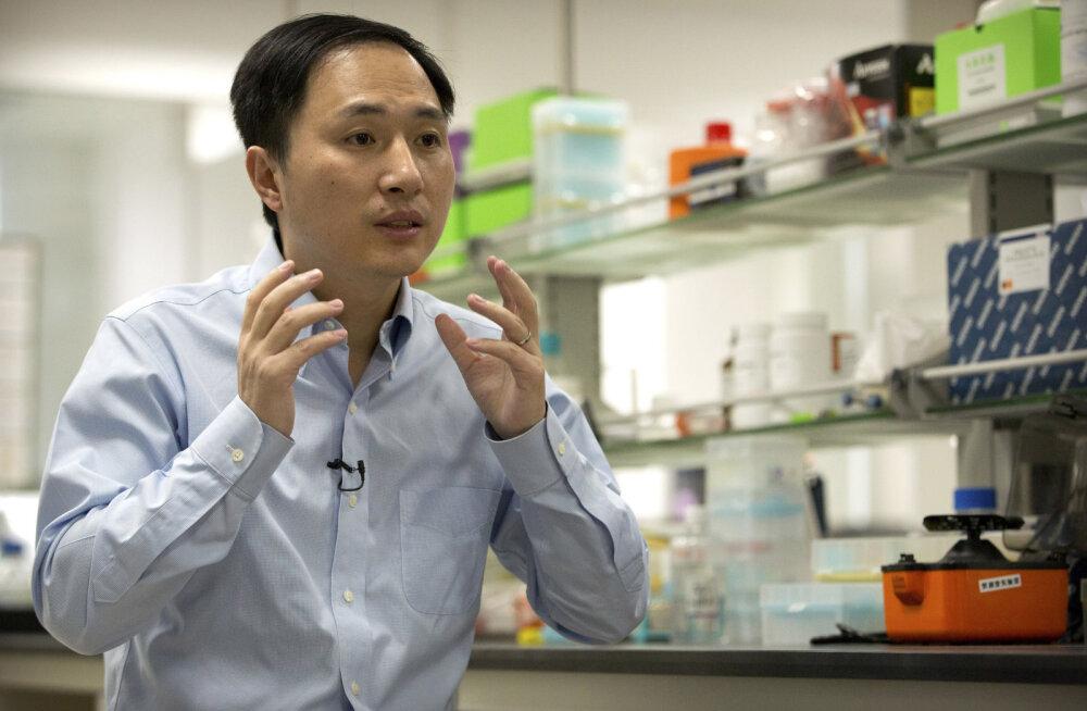 Hiina võimude raport: inimese geene muundanud teadlane rikkus uurimisnorme kuulsusjanu tõttu