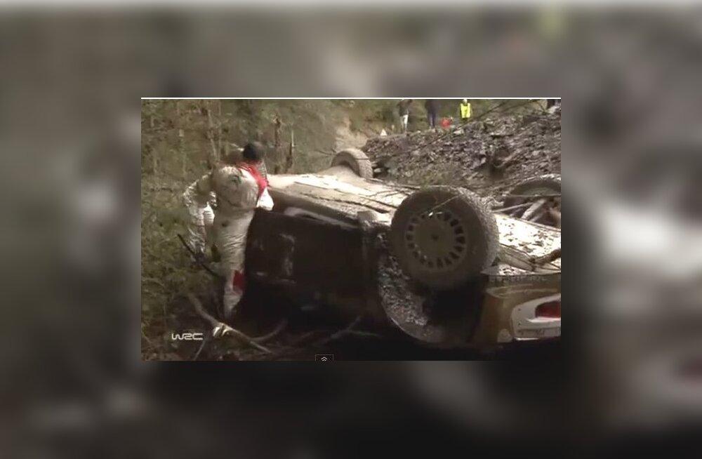 Kubica avarii järel
