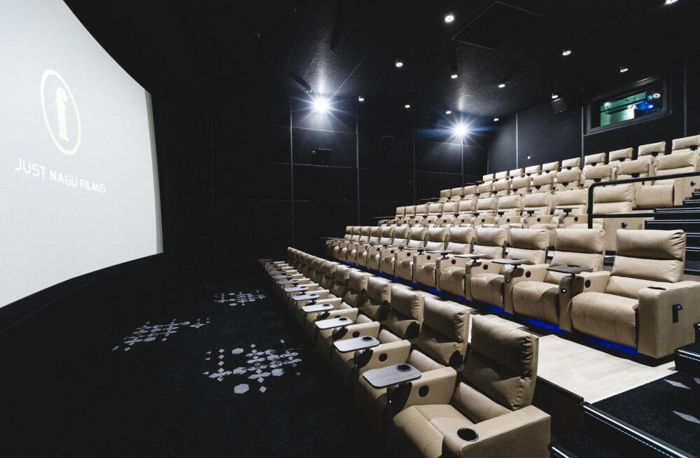 В кинотеатре Coca-Cola Plaza открылся очередной зал с роскошными креслами