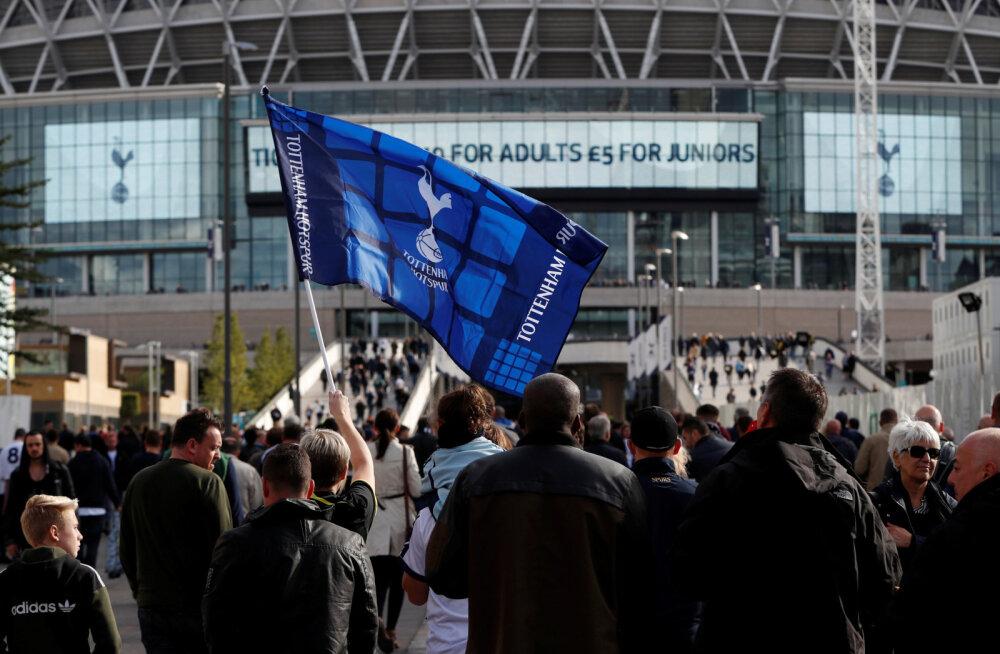 Tottenham võib laupäeval purustada Premier League'i publikurekordi