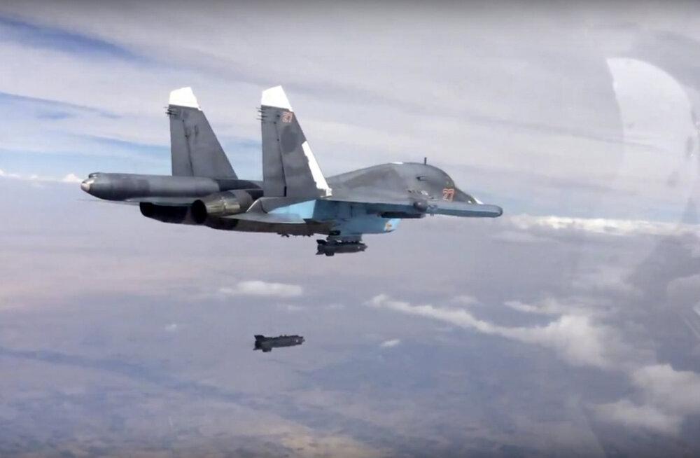 Süüria sõja hetkeseis - Venemaa pommitas keda tahtis, Islamiriik hoopis laienes