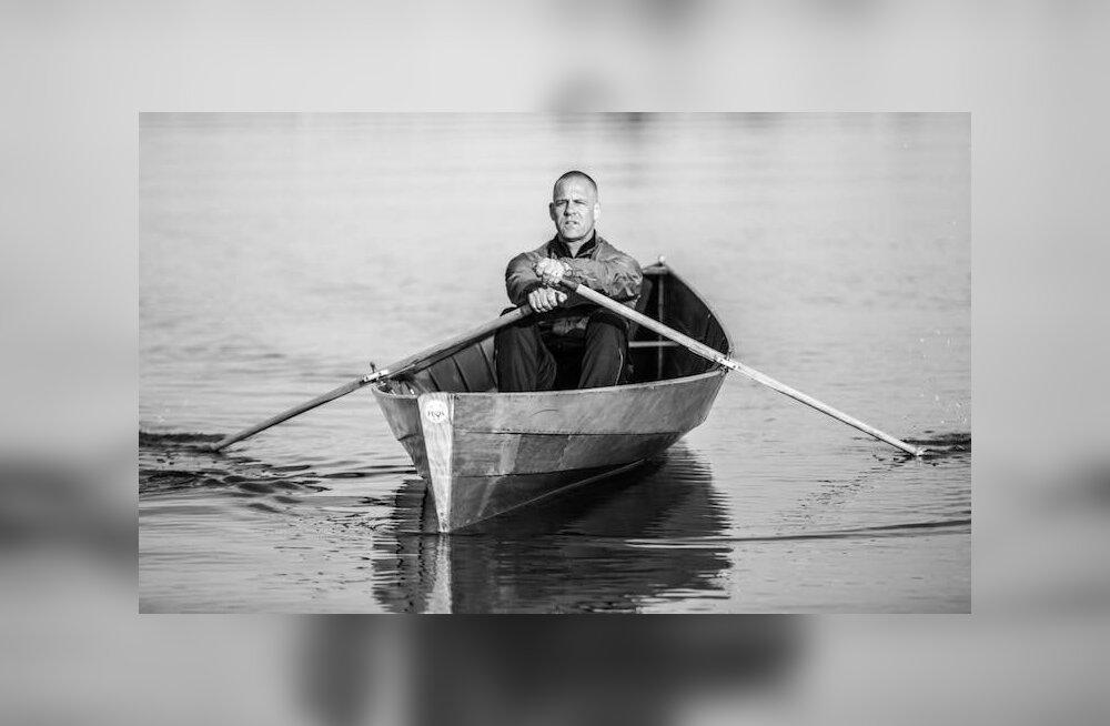 Soome mees võttis kätte ja sõudis pärast 24-tunnist vahetust üksi üle lahe Tallinna
