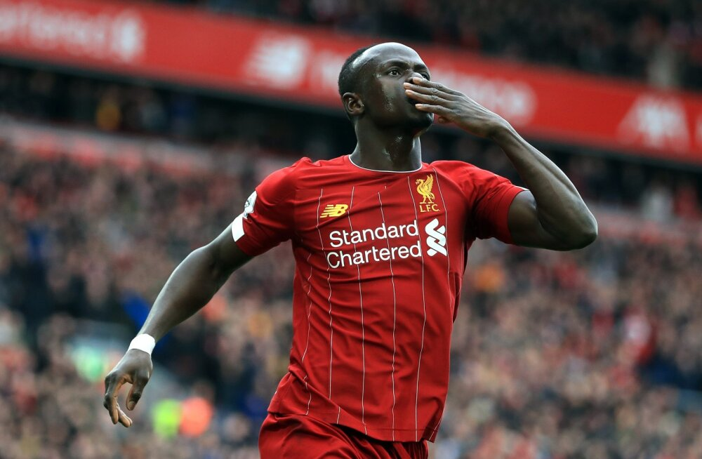 Liverpooli ründetuus Sadio Mane.