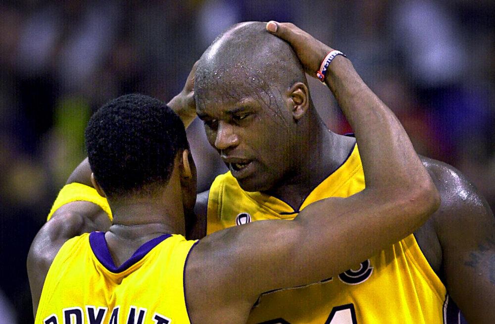 Vana tüli võetakse taas üles? Kobe Bryant ja Shaquille O'Neal sattusid sõnasõtta