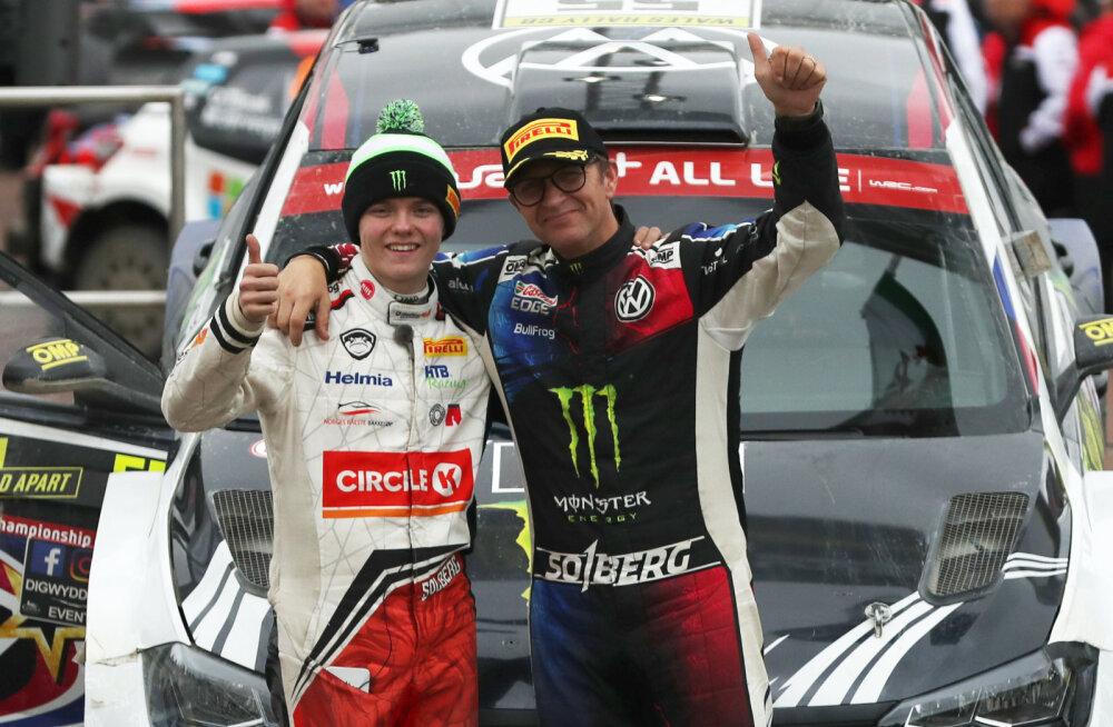 Petter Solberg tahab uue tehasetiimi WRC-sarja maailmameistriks vedada