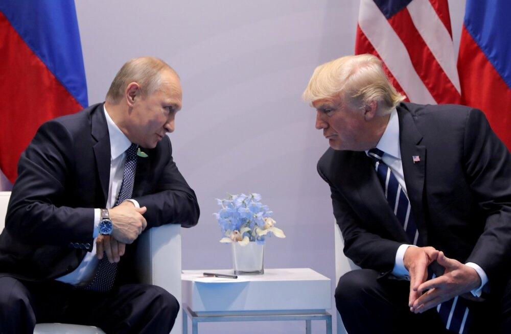 CNN: Trump kavatseb Helsingis Putiniga kohtuda kõigepealt abide juuresolekuta