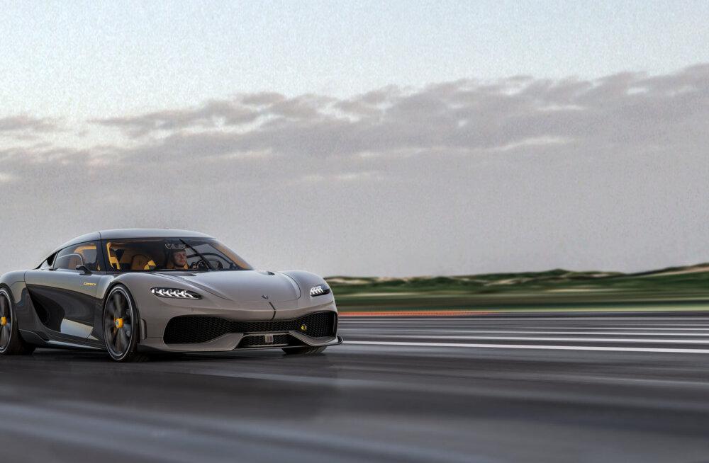 Koenigsegg Gemera – megahübriid-GT, mis sobib ka pereautoks!