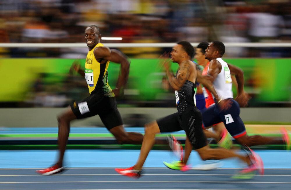 Usain Bolt Rio olümpial