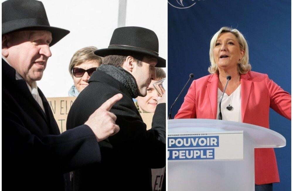 Хельме в свете визита Ле Пен: либеральная демократия хочет сделать все нации и людей одинаковыми. Мы с этим не согласны