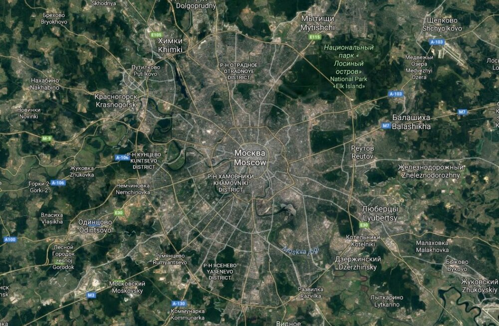 Sobiv koht pealinnale: kas parim paik on riigi keskel või selle servas?