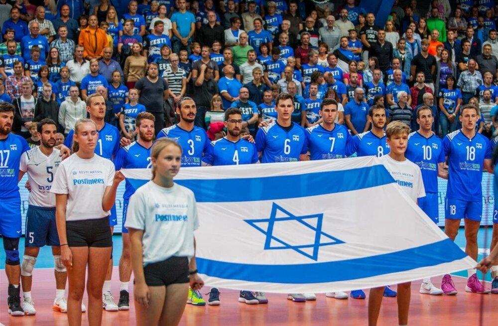 Eesti - Iisrael võrkpall