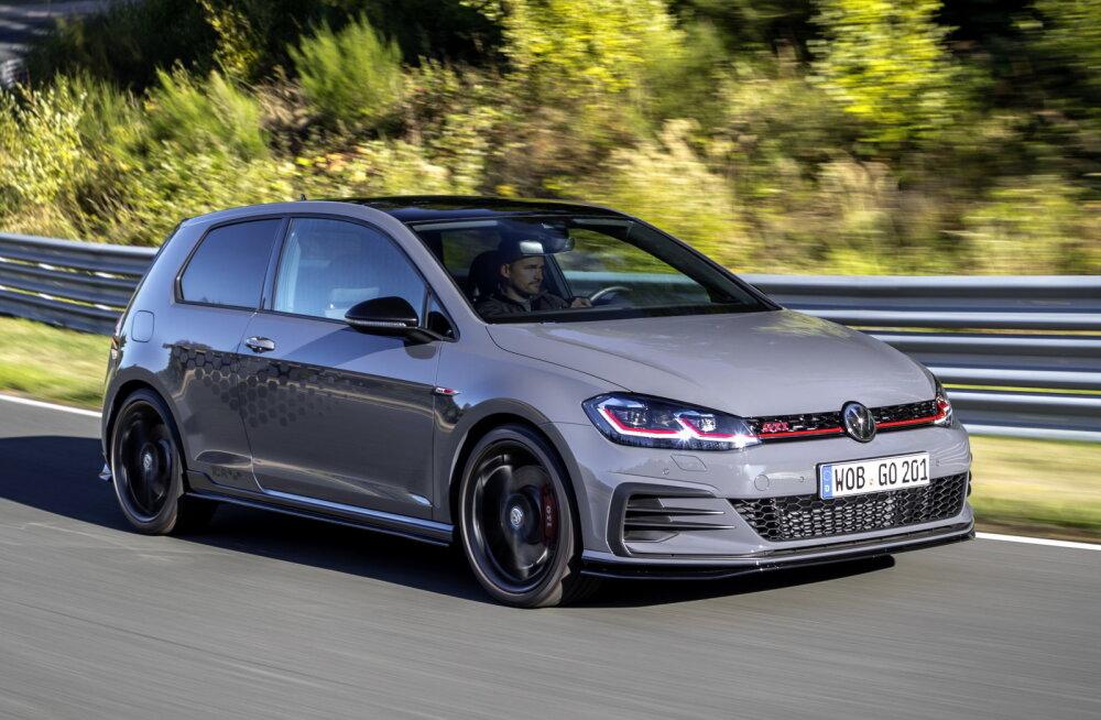 Hüvastijätt seitsmenda Golfiga, ehk Volkswagen Golf GTI TCR