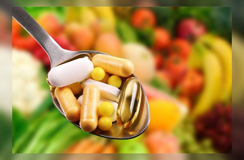 Igaks juhuks pole mõtet vitamiine peoga suhu ajada