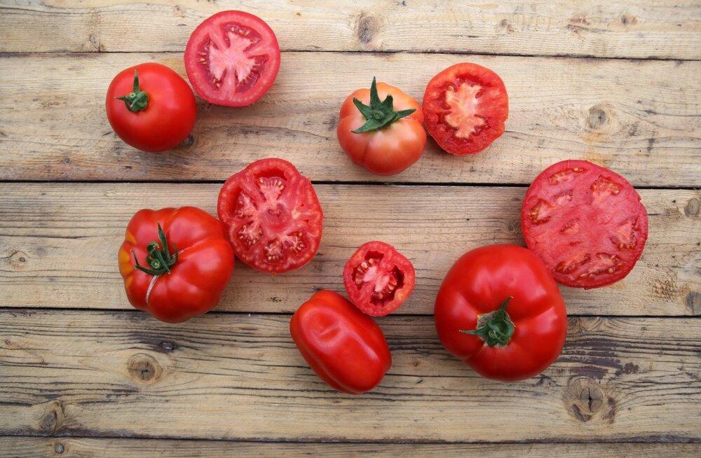 Tomatid, magusad kui mesi