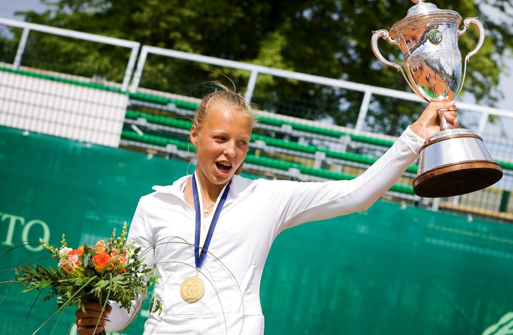 Eesti meistrivõistlused tennises, naisüksikmäng: finaal