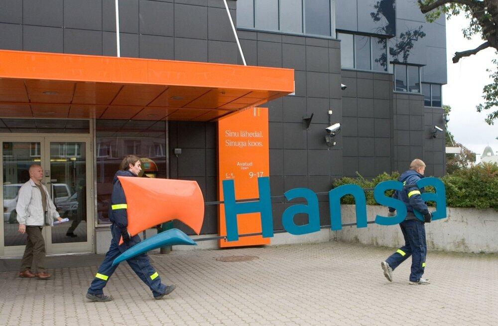 Hansapangast sai Swedbank
