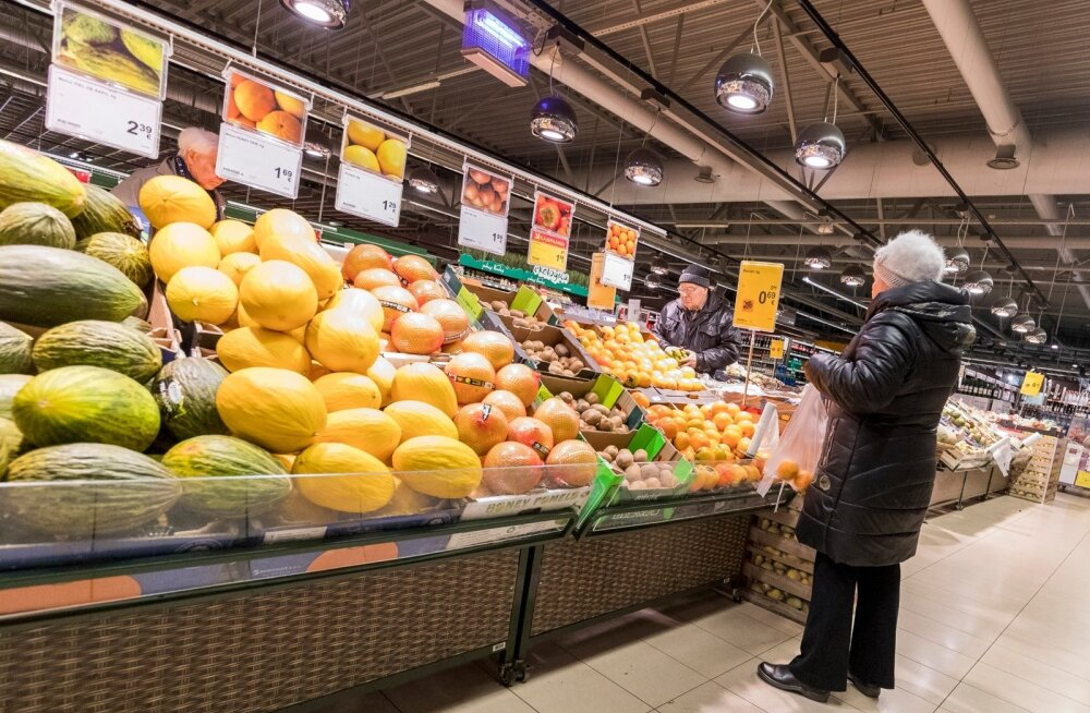 Maxima köögiviljalett pakub nii kodu- kui välismaiseid saadusi.