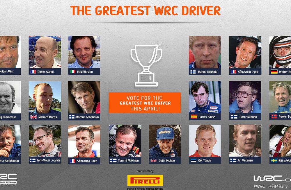 Kes on kõigi aegade parim rallisõitja?