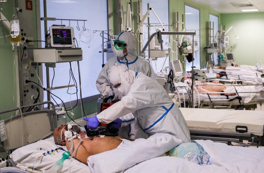 Venemaal ületas ööpäevane koroonaviirusega nakatunute arv 10 000 piiri juba kuuendat päeva