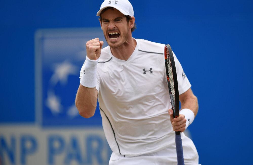 Endine maailma esireket Andy Murray naaseb väljakule