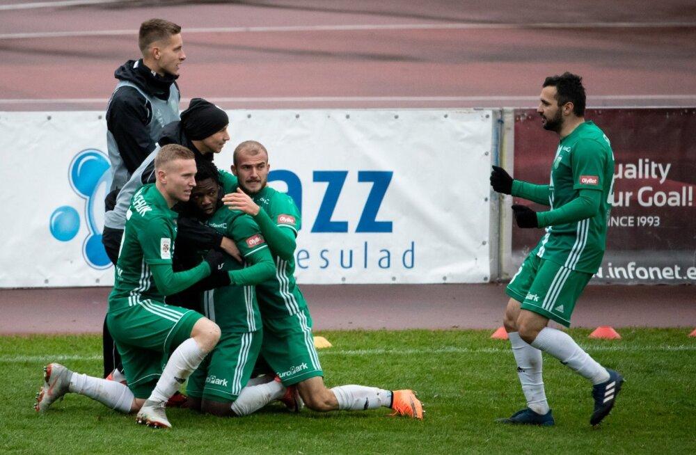 FC Levadia vs FC Flora, paremal Muamer Svraka