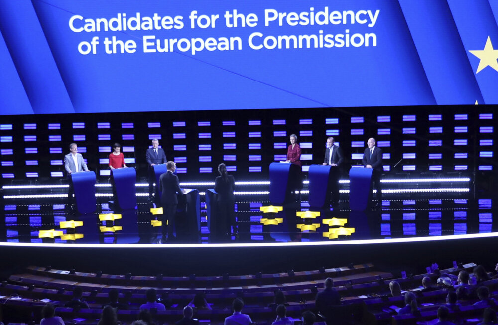 Brüsselis toimus Euroopa Komisjoni presidendi tippkandidaatide debatt