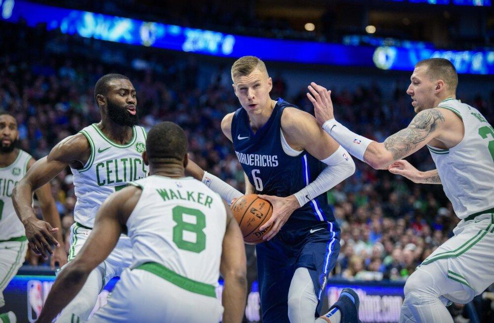Celtics sai Doncicita mänginud Mavericksi üle raske võidu, Pelicans lõpetas rekordilise kaotusteseeria