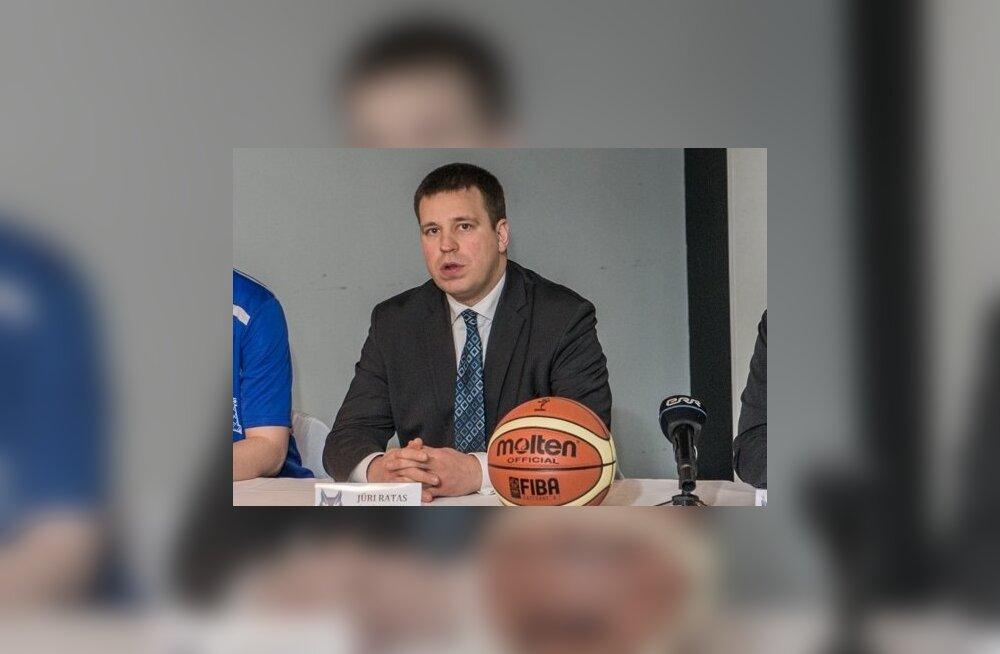 Eesti naiste korvpallikoondise peatreeneri Jaanus Levkoi lepingu allkirjastamine ja pressikonverents